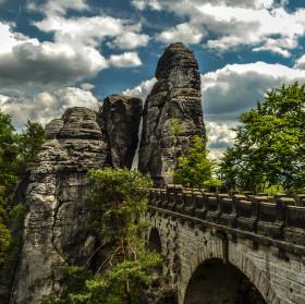 Skalní most Bastei ...