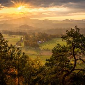 Zlatý podzim v Českém Švýcarsku