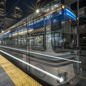 Vlak duchů v Calgary