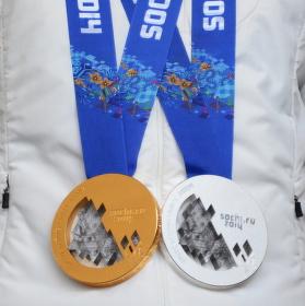 Trofeje ze Soči