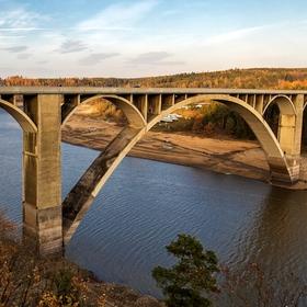 Vltava, km 182,5 - Podolský most