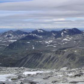 Měsíční krajina v Norsku