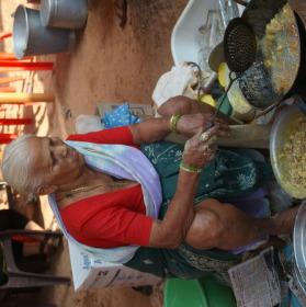 Občerstvení na ulici