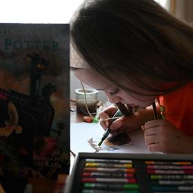 dcera a Harry Potter