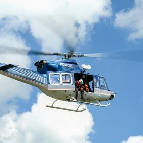 Výcvik leteckých záchranářů