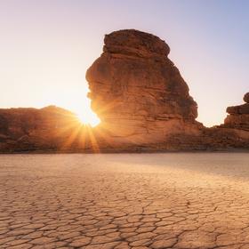 saúdskoarabské Death Valley