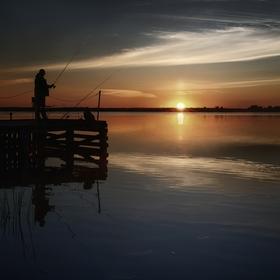 Svítání s rybáři