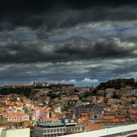 Bouřlivý Lisabon