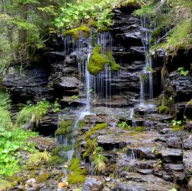Řetízkový vodopád