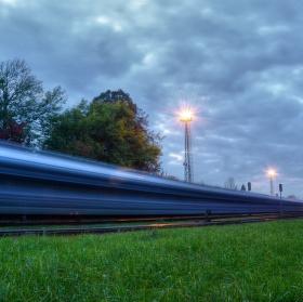 Železniční doprava - automobily Hyundai