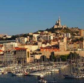 Marseille přístav