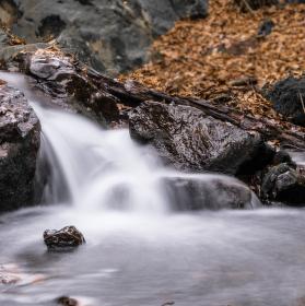 Podzimní vodopády I.