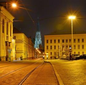 Noční Olomouc....