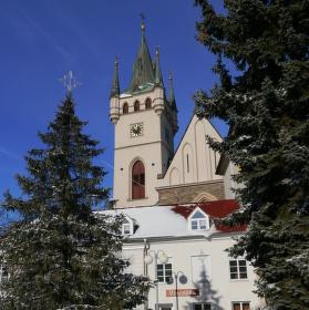 Kostel sv. Mikuláše se připomíná roku 1233. Goticky byl vystavěn asi ve 3. čtvrtině 13. století.