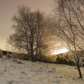 Vánoční šumavské Zhůří 7