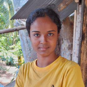 Srílanská kráska