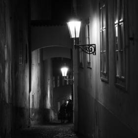 Tajuplné uličky města pražského