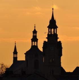 Lovosice,stará radnice s kostelem