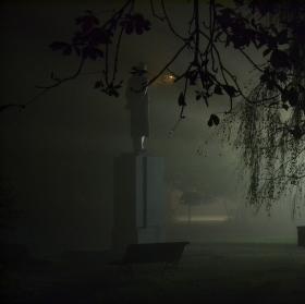 Záhadné světlo v mlze