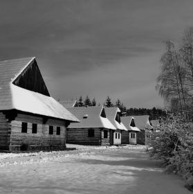 Zima na dedine III.