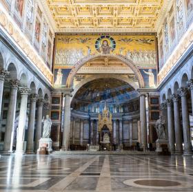 Rim - sv. Pavel za hradbami