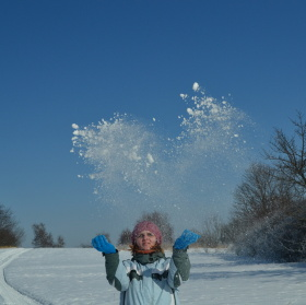 Miláček a sníh