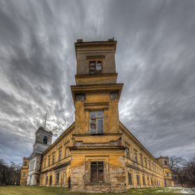 Bývalý vodní hrad Veselí nad Moravou