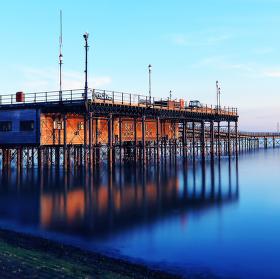 2158m long Southend pier