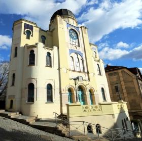 Synagoga Děčín - Židovská památka.