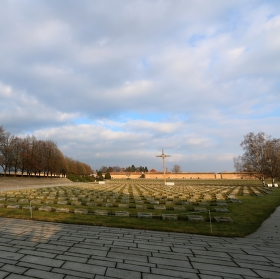 Národní hřbitov Terezín.