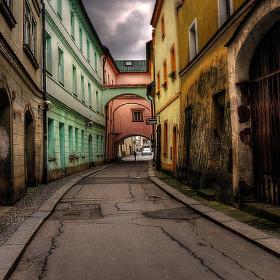 Příčná ulice - přičnalice