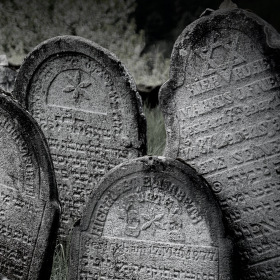 židovský hřbitov Rabí