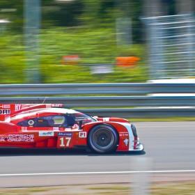 Vítězné Porsche v závodech 24h Le Mans ve Francii