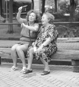 selfie holky.. :)