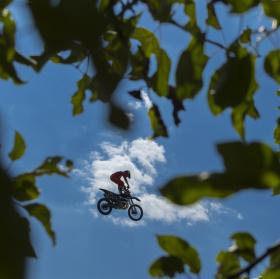 Rock n' Ride ve vzduchu