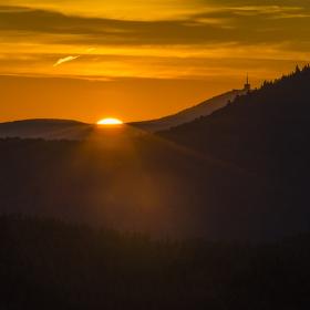 svítání nad Lysou Horou II