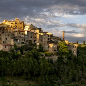 Petroio, Toskánsko, Itálie - panorama