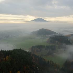 mlha na podzim