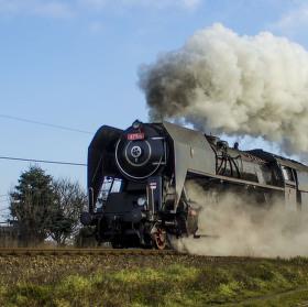 """""""Šlechtična"""" parní lokomotiva 475.101"""