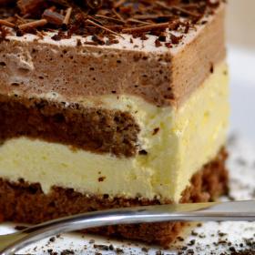 šlehačkový sen s čokoládou