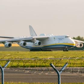Ranní odlet - Antonov AN-225