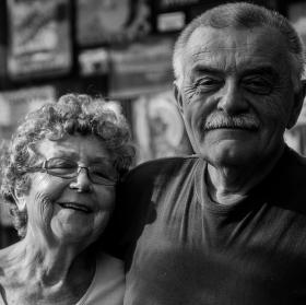 Babička a dědeček