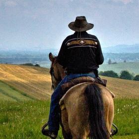 Kovbojové na Šumavě