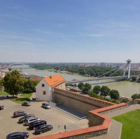 Výhled z Bratislavského hradu