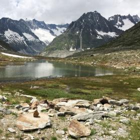 Cesta k ledovci - Svycarsko, Aletschsky ledovec