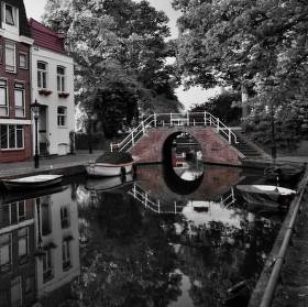 Poklidné ráno v Alkmaaru,