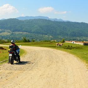 Cesta v horách