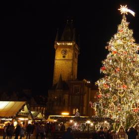 vánoční Staroměstské náměstí