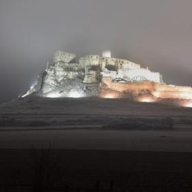Nočný Spišský hrad