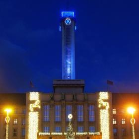 Ostrava modrá a zlatá!!!